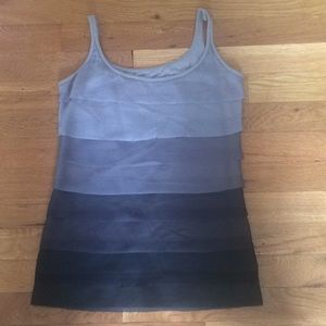 Tops - NY&C Black/Gray Layer Camisole Size XS EUC!